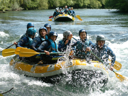 activites eau-vive rafting
